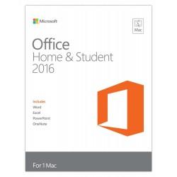 نسخة مايكروسوفت أوفيس هوم آند بيزنس ٢٠١٦ لأجهزة الماك ـ مستخدم واحد (GZA-00551)