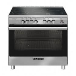 Glem 90X60 CM 5 Burner Electric Cooker (SB9624VI) - Stainless Steel