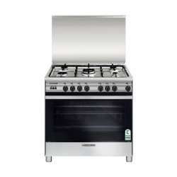 Glem 80X60 CM 5 Burner Gas Cooker (SE867GIFS) - Stainless Steel