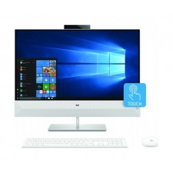 HP Pavilion 27 Core i7 16GB RAM 1TB HDD + 256 SSD 27-inches All-in-One Desktop (27-xa0004nx) - White