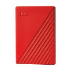 Wetern Digital My Passport 2TB Portable HDD - Red