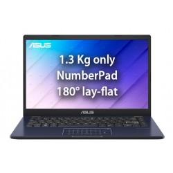 "Asus E410 Intel Celeron N4200 4GB RAM 128GB SSD 14"" FHD Laptop (E410MA-EB009T) - Blue"