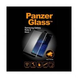 واقي الشاشة الزجاجي بانزر للنوت جالاكسي ٨ - أسود (7133)