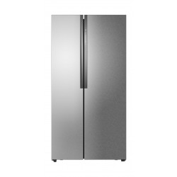Haier Side By Side Refrigerator 18.4 Cft - Silver