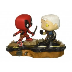 Funko Pop Marvel: Comic Moments-Deadpool Vs. Cable Collectible Figure