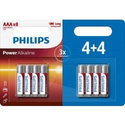 Philips AAA+1 Power Alkaline Batteries 1st view