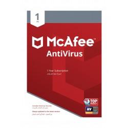 مكافي للحماية من الفيروسات 2019 (جهاز واحد)