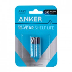 Anker AAA Alkaline Batteries- 2 Pack in KSA | Buy Online – Xcite