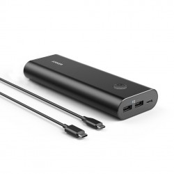 Anker PowerCore 20100mAh USB Port Portable PowerBank (ANK-A1371) - Black