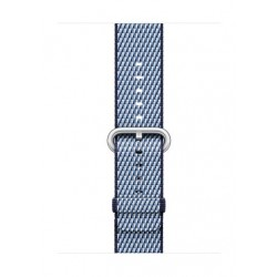 Apple Woven Nylon Strap For 38mm Watch Case - Midnight Blue  Check