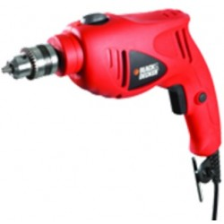 Black & Decker 550W 13 mm Reversible Hammer Drill (HD5513VMEA1-B5) - Front View