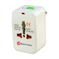 Baykron ITC001 Universal Travel Adapter - White