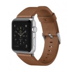 Belkin Classic 42mm Apple Watch Leather Band (F8W732BTC01) - Tan