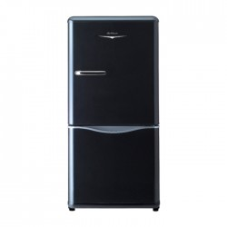 Daewoo 5.3 CFT Bottom Freezer Black Refrigerator in KSA | Buy Online – Xcite