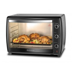 Black + Decker 66L 2200W  Electric Oven - (TRO66-B5)