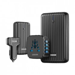 Zendure bundle  of A5 Power Bank 16750 mAh +A2  Power Bank 6700mAh +ZDPPA  passport Car Charger + Travel adapter