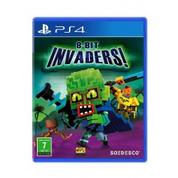 8-bit Invaders: PlayStation 4 Game