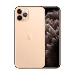 هاتف آيفون ١١ برو ماكس  بسعة ٦٤ جيجابايت - ذهبي