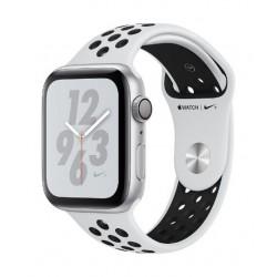 Apple Watch Nike+ Series 4 GPS 44mm Silver Aluminum Case with Pure Platinum/Black Nike Sport Band -MU6K2AE/A