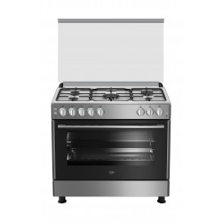 Beko 90X60 5 Burner Gas Cooker (GG15120FX)