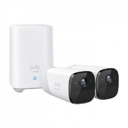 مجموعة 2+1 كاميرا 2 برو من يوفي 2 كي - أبيض