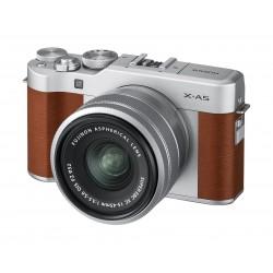 FujifilmX-A5 Mirrorless Digital Camera + 15-45mm Lens - Brown