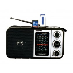 Geepas 8 Band USB Radio - GR6836