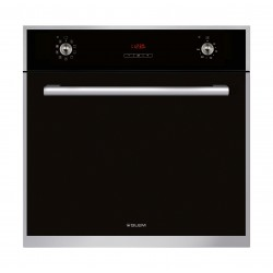 Glem Gas 60 cm Multifunction Gas Oven, Stainless Stell Frame Oven, Glem Gas Electric Oven