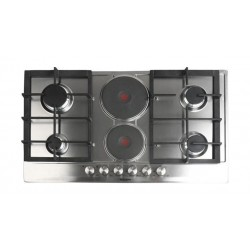 Glem Gas 6 Burner Gas and Electric Built-in Hob 90cm - P9FVCGI