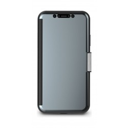 Moshi StealthCover Portfolio Case for Apple iPhone XR - Gunmetal Grey