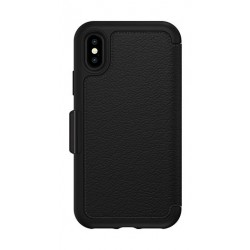 Otterbox Strada Folio Case for iPhone XS (77-59630) Shadow