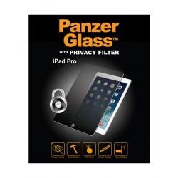 واقي الشاشة الزجاجي الأصلي مع فلتر الخصوصية لآيباد إير من بانزر - شفاف (27102)