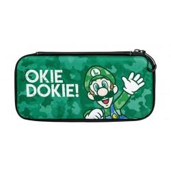 PDP Nintendo Switch Slim Travel Case - Luigi Camo Edition