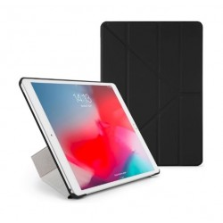 Pipetto Origami Folding Case and Stand for Apple iPad 10.5 2019 - Black