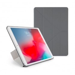 Pipetto Origami Folding Case and Stand for Apple iPad 10.5 2019 - Dark Grey