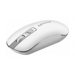 Promate Suave High Precision Ergonomic Wireless Mouse - White