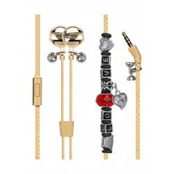 Promate Vogue-3 Wearable Bracelet Earphone - Gold