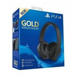 Sony PlayStation Gold Wireless Headset (CUHYA-0080) - Black