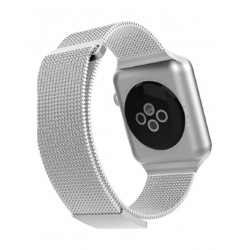 X-Doria Milanese Band Wrist Strap for Apple Watch 42 mm - Silver