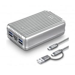 Zendure A8 26800mAh Power Bank - Silver