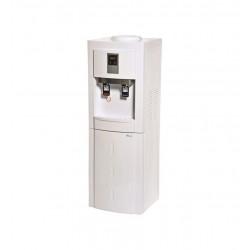 موزع مياه بيسك - ٢ صنبور (BWD-LYR62W) - أبيض