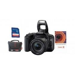 كاميرا كانون الرقمية إي أو إس ٢٠٠٠دي بدقة ٢٤,١ ميجابكسل واي فاي مع عدسة ١٨ - ٥٥ ملم آي إس - آي آي + بطاقة ذاكرة + حقيبة + قسيمة تدريب على التصوير الفوتوغرافي