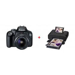 Canon EOS 4000D 18MP Wi-fi With 18-55 Lens DC + Canon SELPHY CP1300 Compact Photo Printer - Black 3