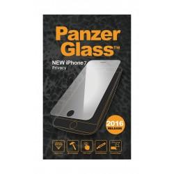 واقي الشاشة الزجاجي برايفاسي لهاتف أيفون ٧ من بانزر – شفاف  (P2003)