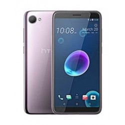 HTC Desire 12 Hard Clear Case + Tempered Glass Screen Protector