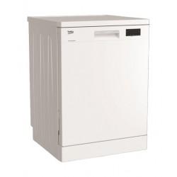 Beko 6 Programs Free Standing Dishwasher (DFN16411W) - White