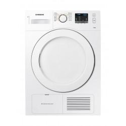 نشافة الملابس بتكثيف البخار سعة ٧ كيلو غرام من سامسونج - أبيض (DV70H4400CW)