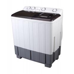 Daewoo 10/7 Kg Twin Tub Washing Machine (DW-T220AS) - White