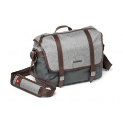 Manfrontto Windsor Messenger Bag - Grey