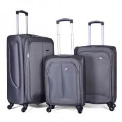 مجموعة حقائب إلانترا - ٣ قطع (97307) - رمادي